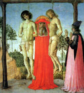St. Jerome Saves Two Hanged Men